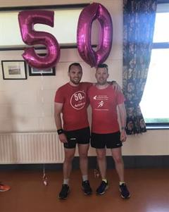Mr. Doyle runs 50km for Amira