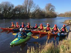 Transition year Kayaking