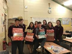 Students give to TEAM HOPE